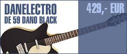 Danelectro DE 59M Dano Black