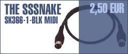 The Sssnake SK366-1-BLK Midi