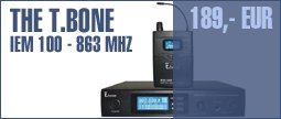 the t.bone IEM 100 - 863 Mhz