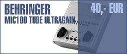 Behringer MIC100 Tube Ultragain
