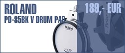 Roland PD-85BK V Drum Pad BK