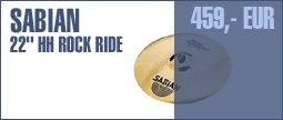 "Sabian 22"" HH Rock Ride"