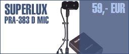 Superlux PRA-383D XLR