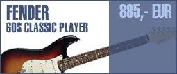 Fender 60s Classic Player Strat RW3SB