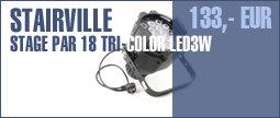 Stairville Stage PAR 18 Tri-Color LED3W