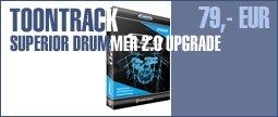 Toontrack Superior Drummer 2.0 Upgrade