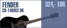 Fender CD-140SCE BK