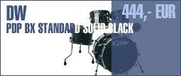 DW PDP BX Standard Solid Black