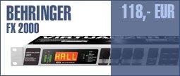 Behringer FX2000 3D FX Processor