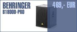 Behringer B1800D Pro