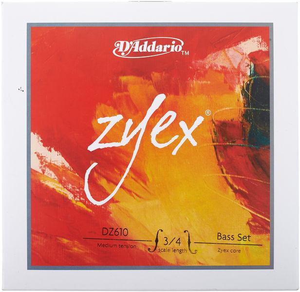 DZ610-3/4M Zyex Bass 3/4 Daddario