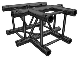 F34T35-B T-Piece Black Global Truss
