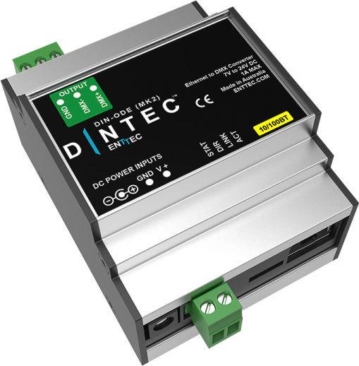 DIN-ODE Mk2 Enttec