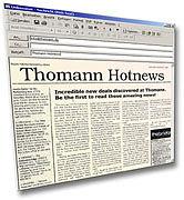 Thomann Hotnews Newsletter