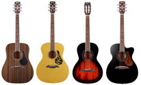 New steel string acoustic guitars by Framus