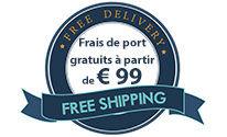 Nous avons descendu le seuil des frais de port et le coût de livraison pour vous!