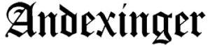 Andexinger logotipo