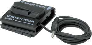 Lead Foot LFD-1 Sustain Pedal