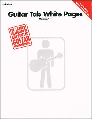 Hal Leonard White Pages Guitar Vol.1
