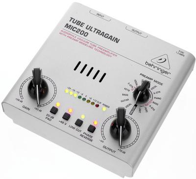 Behringer MIC200 Tube Ultragain