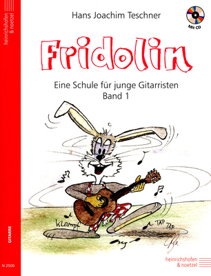 E Heinrichshofen Fridolin Vol 1 +CD