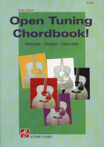 Schell Music Open Tuning Chordbook !