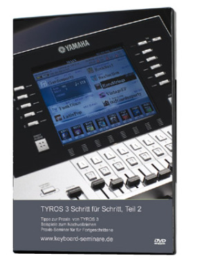 Yamaha Tyros 3 Video DVD Teil 2