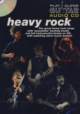 Music Sales Play-Along Guitar Heavy Rock