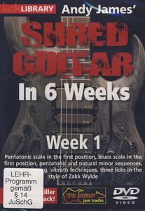 Music Sales Shred Guitar Week 1