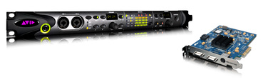 Avid Pro Tools HD Native + HD Omni