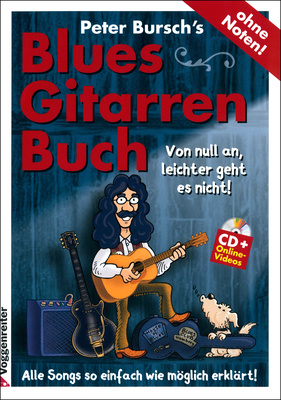 Voggenreiter Bursch`s Blues Gitarrenbuch