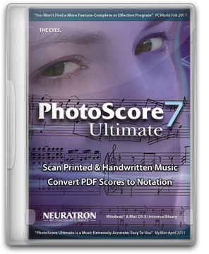 Neuratron PhotoScore Ultimate 7 english