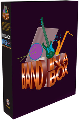 PG Music Band-in-a-Box Mega PC G