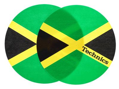 Technics Slipmat Jamaika
